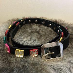 Betsey Johnson Accessories - Betsey Johnson   Leather Belt